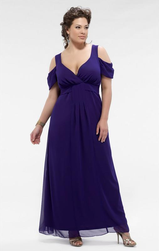 Ankle Length Plus Size Bridesmaid Dresses With Sleeves