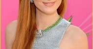 Bella Thorne Long Straight Hairstyles with Bangs