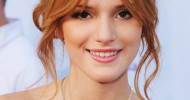 Bella Thorne Messy Updo Hairstyles
