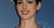 Best Anne Hathaway Pixie Hairstyles 2013