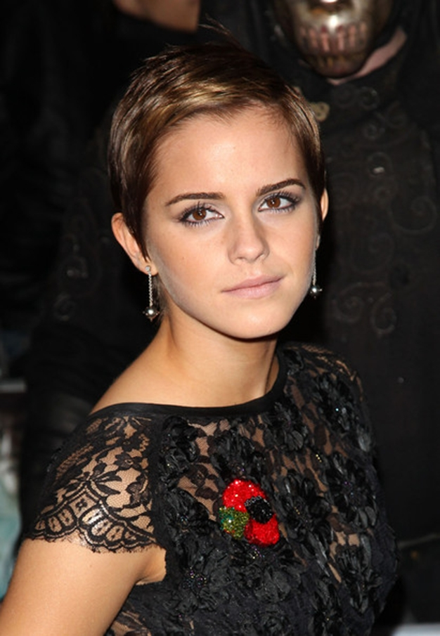 Emma Watson Pixie Haircut 2013 Fashion Trends Styles For