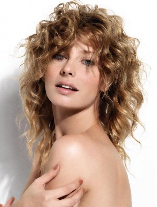 Swell Medium Length Curly Hairstyles 2013 Fashion Trends Styles For 2014 Hairstyle Inspiration Daily Dogsangcom