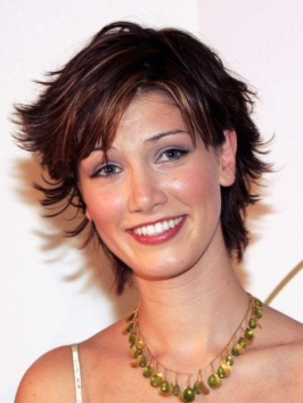 Best Short Shag Hairstyles 2013