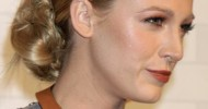 Blake Lively Loose Bun Hairstyles
