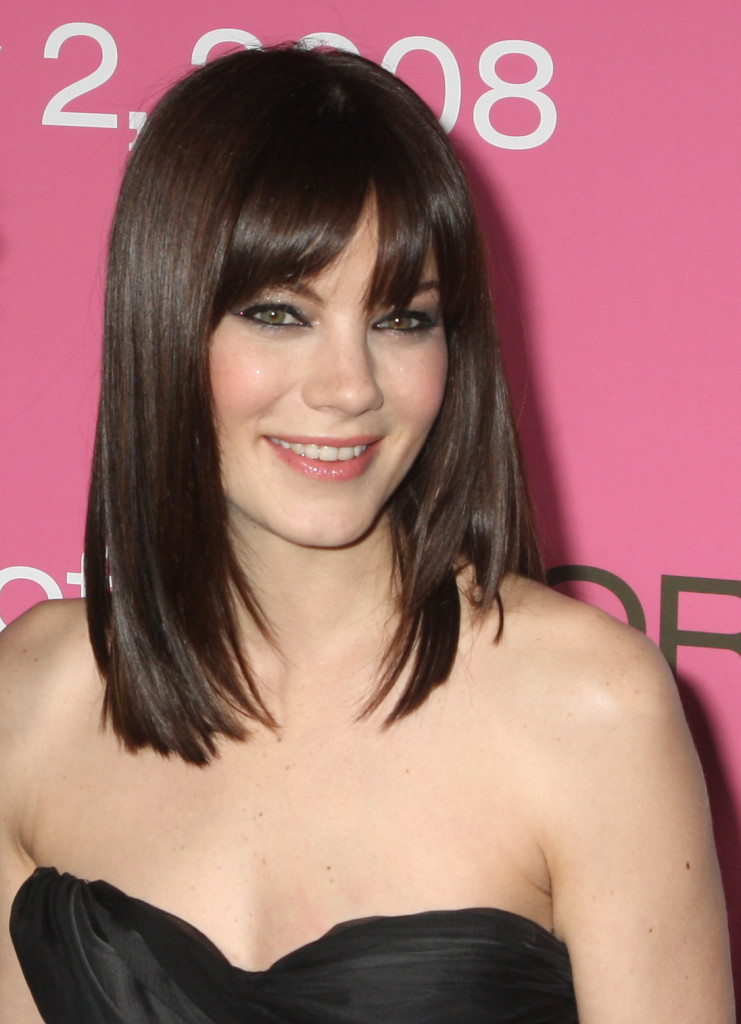 Remarkable Medium Length Hairstyles With Bangs 2013 Fashion Trends Styles Short Hairstyles Gunalazisus