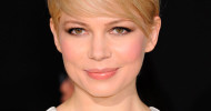 Cute Michelle Williams Blonde Pixie Haircut 2013