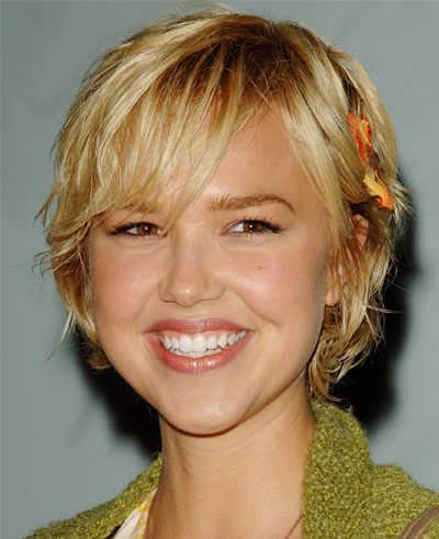 Cute Short Blonde Hairstyles 2013