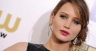 Jennifer Lawrence Loose Bun Hairstyles