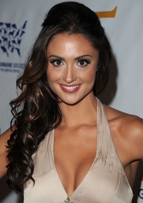 Katie Cleary Curly Half Up Half Down Formal Hairstyles