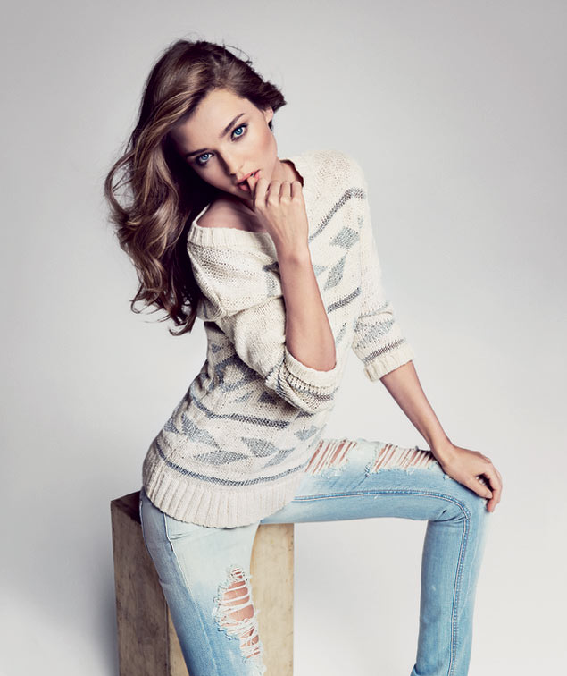 Miranda Kerr Sizzles in First Look of Mango Spring 2013 Campaign