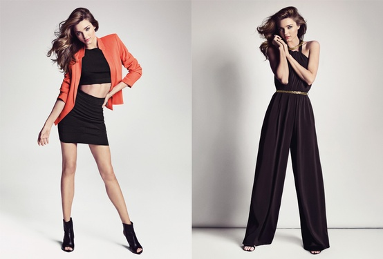 Miranda Kerr Sizzles in First Look of Mango Spring 2013