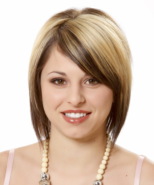 Best Short Hairstyles for Round Faces 2013