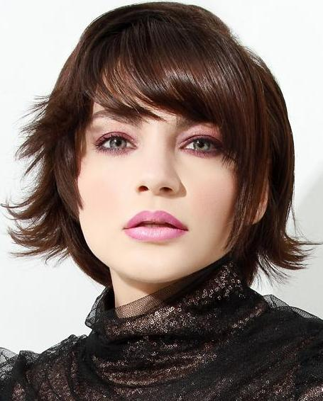bob haircut with bangs and layers layered bob hairstyles 2013 fashion trends styles for 2014 5640