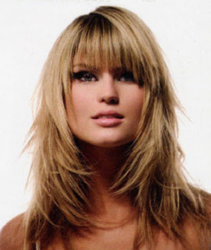 long layered shag haircut styles