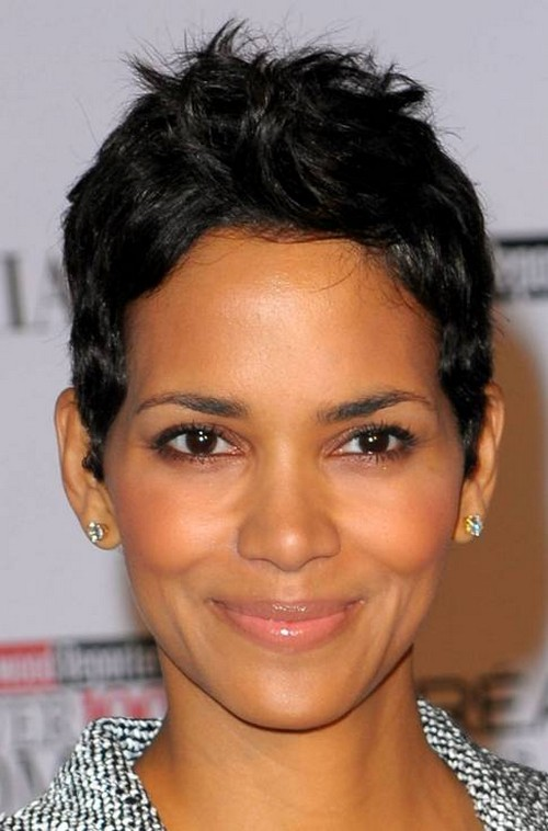 Surprising Short Hairstyles For Black Women With Round Faces Fashion Trends Short Hairstyles For Black Women Fulllsitofus