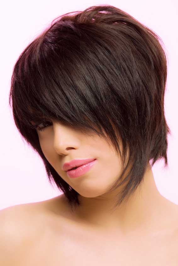 short layered shaggy bob hairstyles