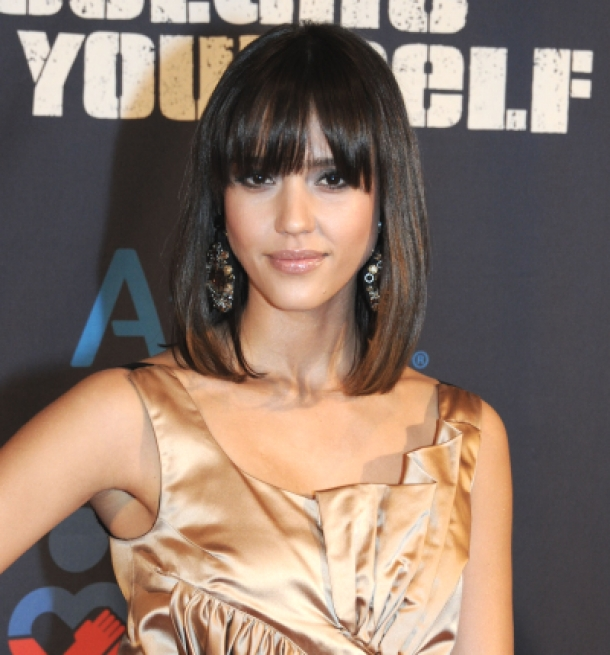 shoulder length bob hairstyles with bangs