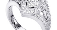 vintage marquise diamond engagement rings