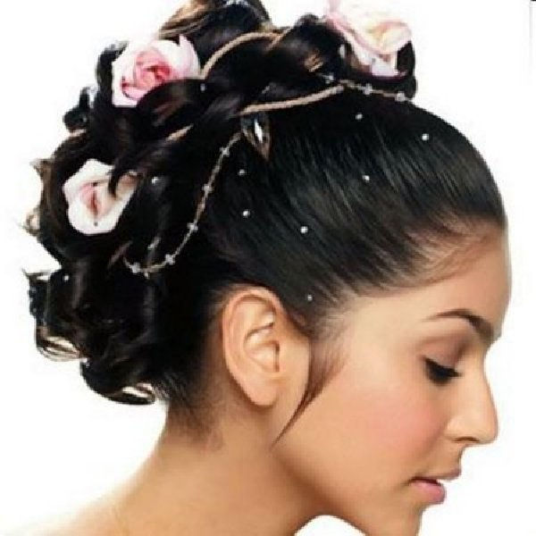 Black Wedding Hairstyles for Short Hair