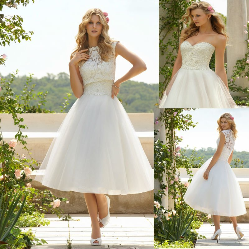 Casual Outdoor Wedding Dresses 2013