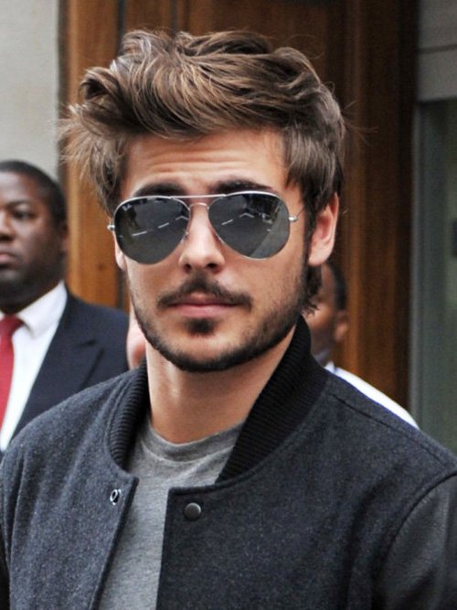 Classic Hairstyles for Men with Glasess