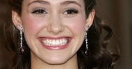 Cute Half Up Half Down Hairstyles from Emmy Rossum