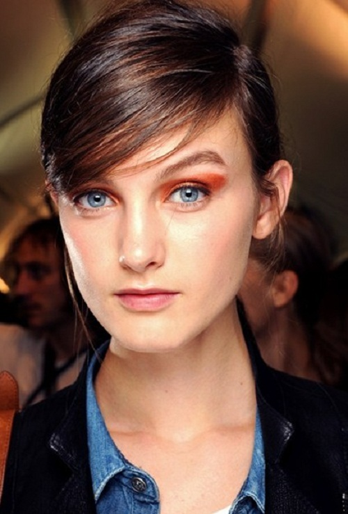 Extreme side fringes Hairstyles for Spring Summer 2013