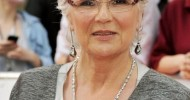 Hairstyles Short for Women Over Age 50 with glasses