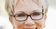 Hairstyles for Women Over Age 50 with glasses