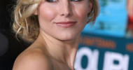 Kristen Bell Messy Updo Hairstyles