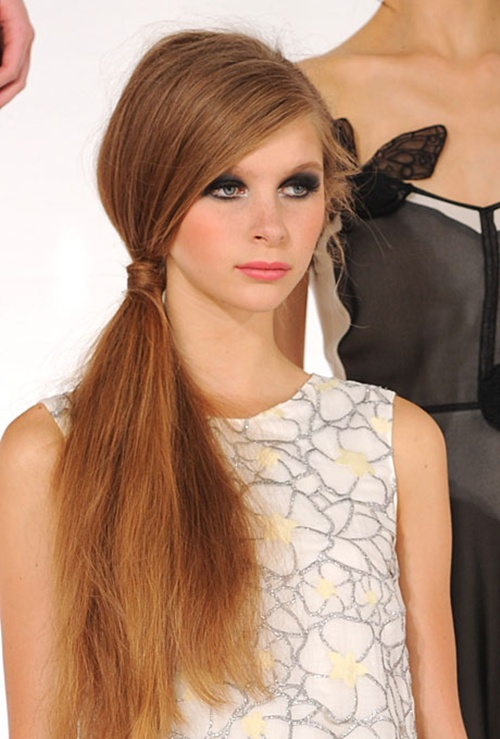 Low Ponytail Hairstyles For Girls