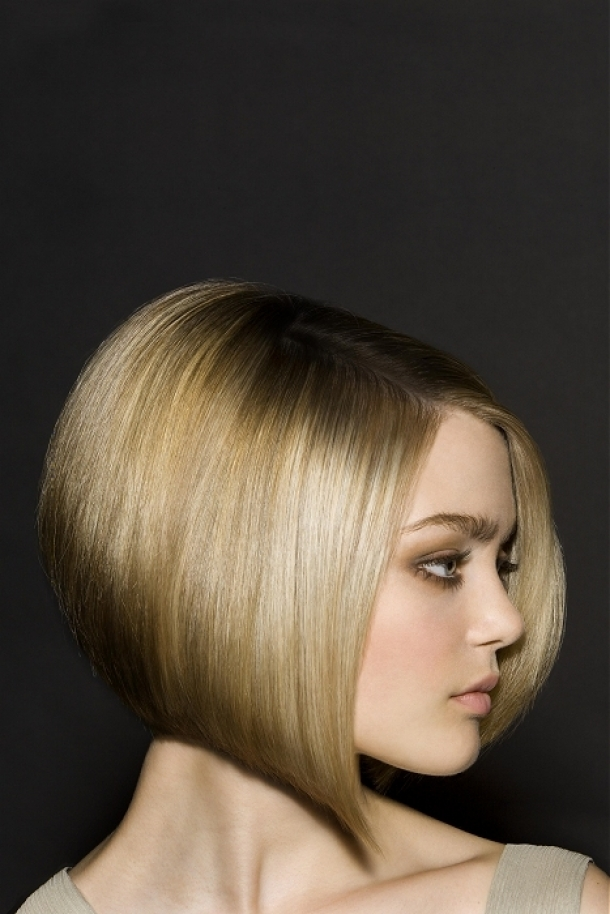 Medium Inverted Bob Hairstyles 2013