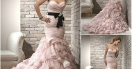 Mermaid Wedding Dresses 2013 Collections