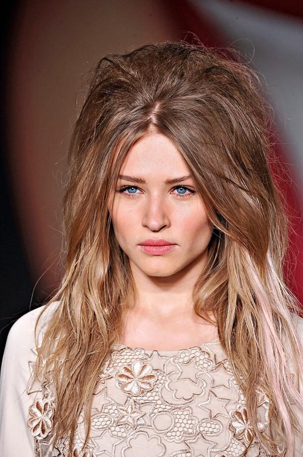 Messy Hairstyles for Spring Summer 2013