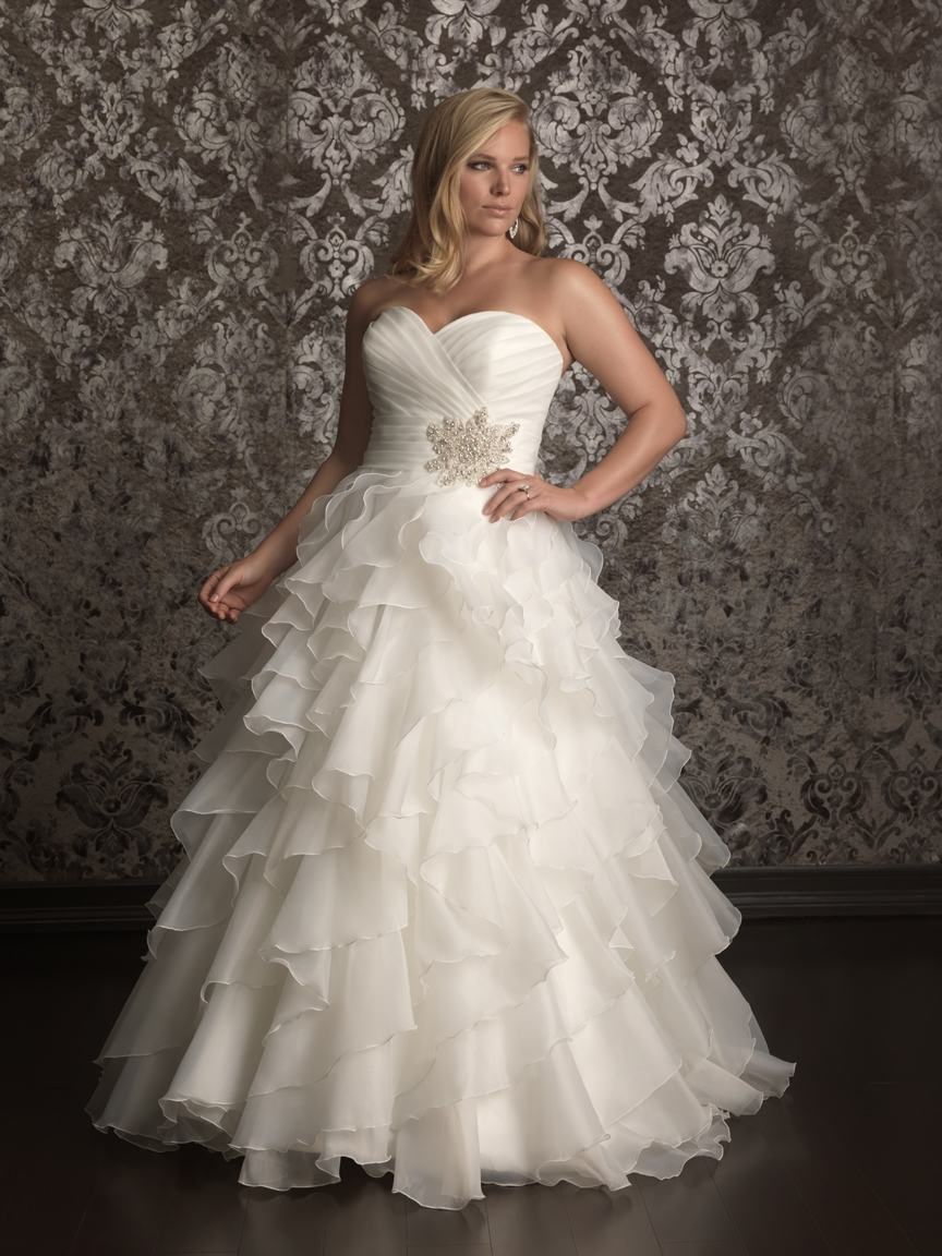 Plus Size Casual Wedding Dresses 2013