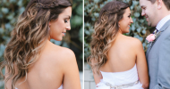 Romantic Wedding Hairstyles with Braids