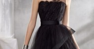 Short Black Wedding Dresses 2013