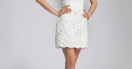 Short White Wedding Dresses 2013