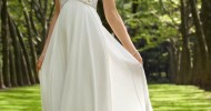 Simple Casual Wedding Dresses 2013