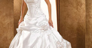 Simple Inexpensive Wedding Dresses 2013
