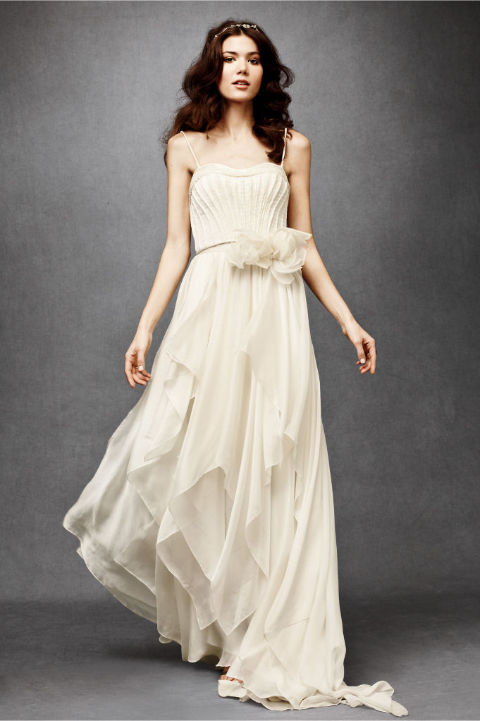 Simple Informal Wedding Dresses 2013 Fashion Trends
