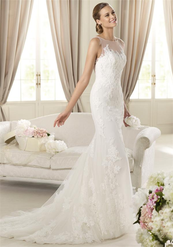 Simple Lace Wedding Dresses 2013 - Fashion Trends Styles for 2020