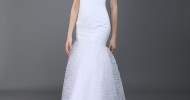 Simple Mermaid Wedding Dresses 2013