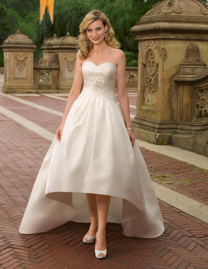 Simple Modest Wedding Dresses 2013
