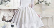 Simple Vintage Wedding Dresses 2013