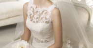 Simple White Wedding Dresses 2013