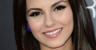 Victoria Justice False Eyelashes June 26, 2012