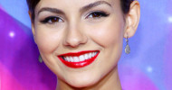 Victoria Justice False Eyelashes November 17, 2012
