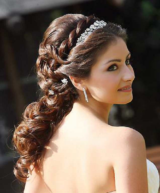 Wedding Hairstyles with Braids 2013