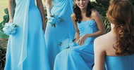 blue bridesmaid dresses Designs